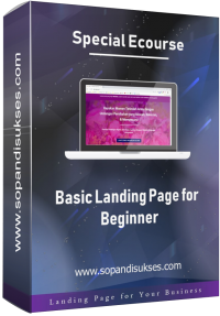 3D Cover Ecourse Basic LP for Beginner