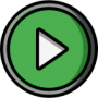 icon video green
